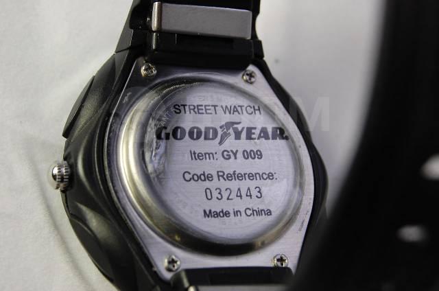 Часы goodyear d 53 мм противоударные водостойкие с хронографом отзывы