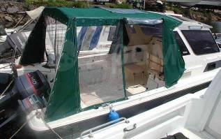Пошив и ремонт тентов на катера, шлюпки, лодки и другую водную технику