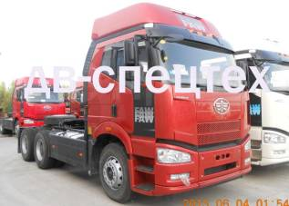 FAW CA4250P66K24T1A1E4. Продаем новые тягачи FAW 6х4 (J6) 390 л. с. EVRO 4, 11 050куб. см., 53 800кг.