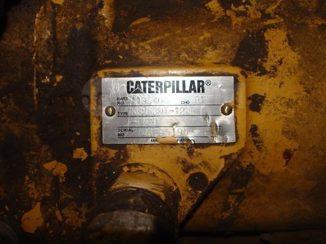 Главная передача. Caterpillar