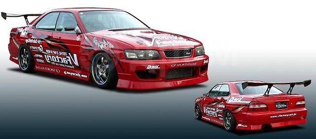 Накладка на крыло. Mazda RX-7, FD3S Mazda RX-8 Subaru Impreza Toyota: Soarer, Altezza, Chaser, Mark II, Cresta Mitsubishi Lancer, C32V Nissan Laurel...