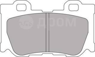 Колодки тормозные. Infiniti FX50 Infiniti G37 Nissan 370Z
