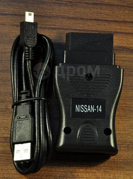 Диагностический сканер (адаптер) Nissan Consult 2 USB (14