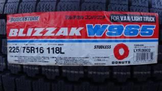 Bridgestone Blizzak W965. Зимние, без шипов, без износа, 1 шт
