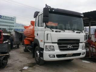 Hyundai HD78. Бензовоз на базе Hyundai 8тон 10.000л., 11 149куб. см.