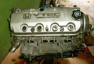 Двигатель в сборе. Honda: Logo, Accord, Inspire, Stream, Airwave, Civic, Civic Ferio, Prelude, Mobilio, HR-V, Orthia, CR-V, Odyssey, Avancier, Legend...