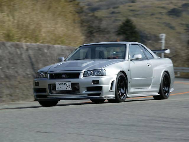 Обвес кузова аэродинамический. Nissan Skyline, BNR34, ENR34, ER34, HR34 Nissan GT-R