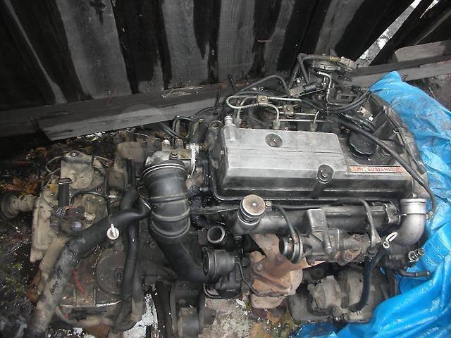 запчасти на двигатель митсубиси 4д68