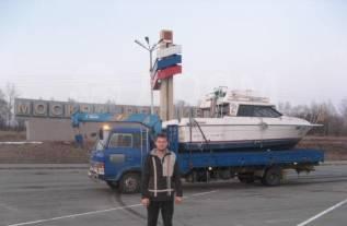 Перевозка катеров город. край. регион на авто