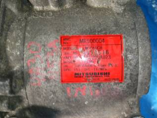 Компрессор кондиционера. Mitsubishi Toppo BJ, H42A Двигатель 3G83
