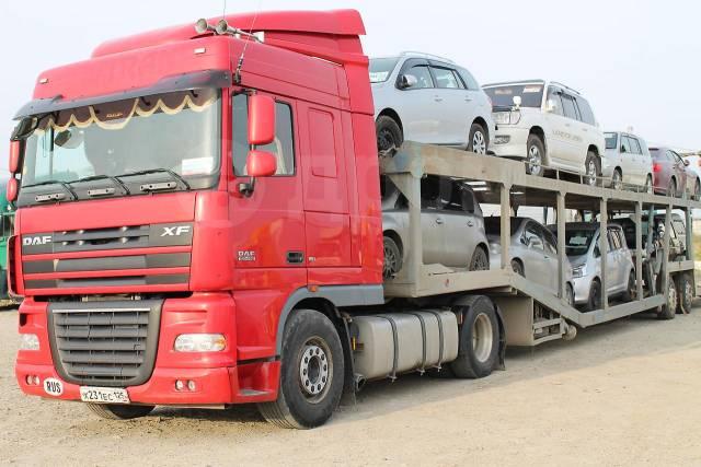Доставка авто и спецтехники по России