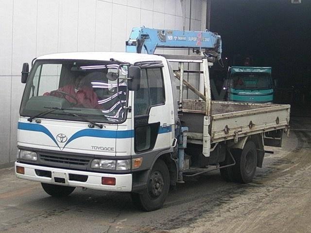 Кабина. Toyota ToyoAce Toyota Dyna, FB4JEA Двигатель J05C