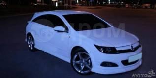Накладка на фару. Opel Astra