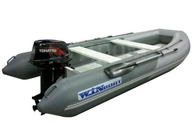 Winboat 375RF Sprint Luxe. 2017 год год, длина 3,75м., двигатель подвесной