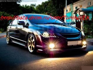 Обвес кузова аэродинамический. Honda Civic, FD1, FD2, FD3 Двигатель P6FD1. Под заказ
