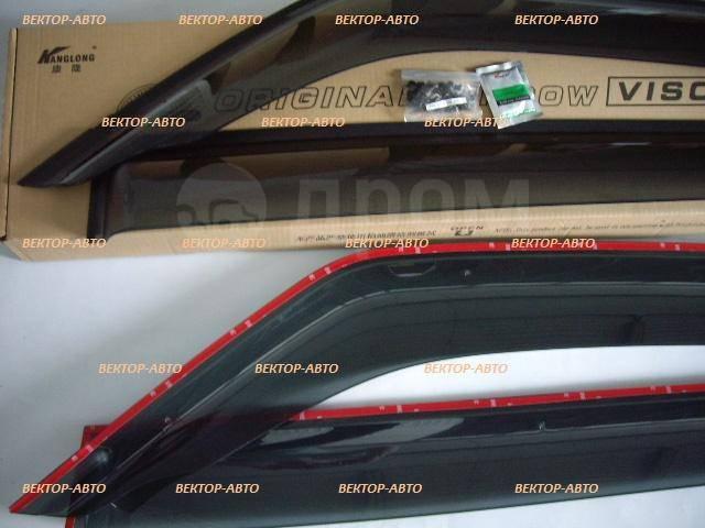 Ветровик на дверь. Mitsubishi Pajero, V83W, V87W, V88W, V93W, V97W, V98W Двигатели: 4M41, 6G72, 6G75