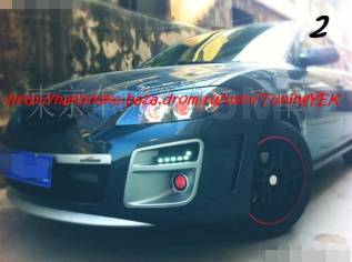 Обвес кузова аэродинамический. Mazda Mazda3 Mazda Axela, BK3P, BK5P, BKEP Двигатели: L3VDT, L3VE, LFDE, LFVE, ZYVE. Под заказ