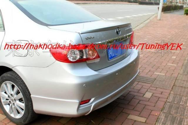 Обвес кузова аэродинамический. Toyota Corolla, 11. Под заказ