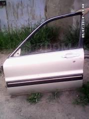 Дверь боковая. Mitsubishi Galant, E31A, E32A, E32AR, E33A, E34A, E34AR, E35A, E37A, E38A, E39A Двигатели: 4D65, 4D65T, 4G32, 4G37, 4G63, 4G63T, 4G67