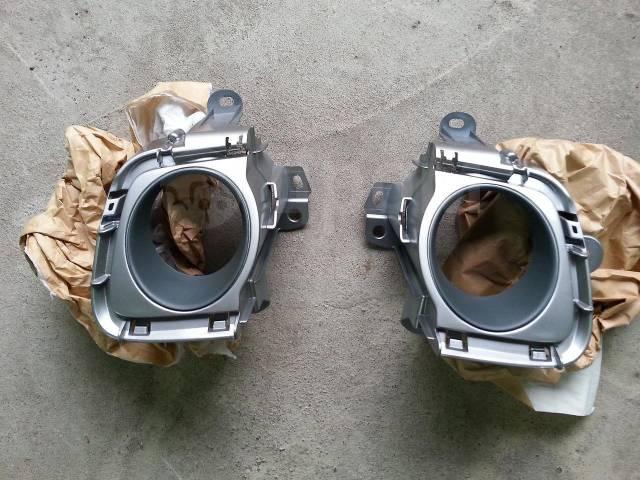Крепление противотуманной фары. Toyota Prius, ZVW30, ZVW30L Двигатель 2ZRFXE