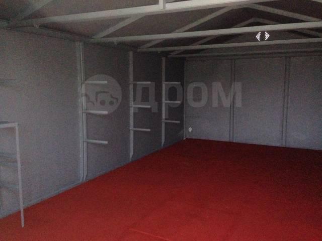 Железный гараж купить без места в омске толщина утеплителя на железного гаража