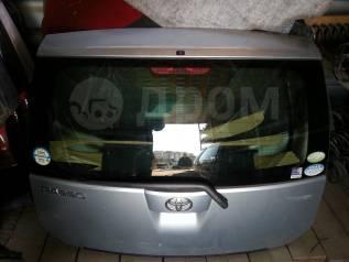 Крышка багажника. Toyota Passo, KGC10, KGC15 Двигатель 1KRFE