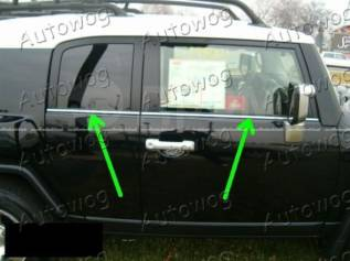 Молдинг стекла. Toyota FJ Cruiser