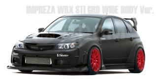 Кузов в сборе. Subaru Impreza WRX STI, GRB Subaru Impreza, GRB