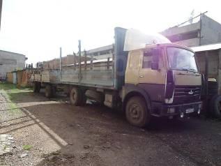 МАЗ 53366. Продается тентованный фургон или меняю на легковой авто, 14 860куб. см., 10 000кг., 4x2