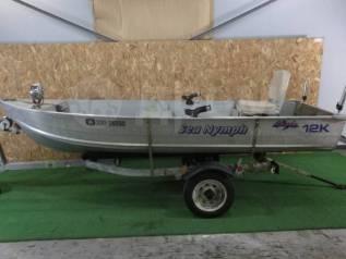 Nereyda. 2010 год год, длина 3,68м., двигатель подвесной