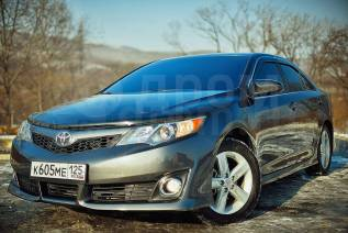 Дефлектор капота. Toyota Camry, ACV51, ASV50, ASV51, AVV50, GSV50 Двигатели: 1AZFE, 2ARFE, 2ARFXE, 2GRFE, 6ARFSE