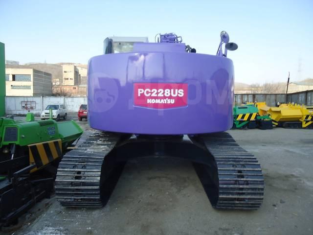 Komatsu PC228US. Экскаватор , 1,20куб. м.