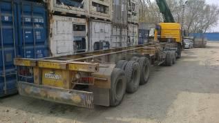 TONGHUA THT9402TJZ, 2007. Полуприцеп контейнеровоз, 2х20 или 40, продажа, 40 000кг.