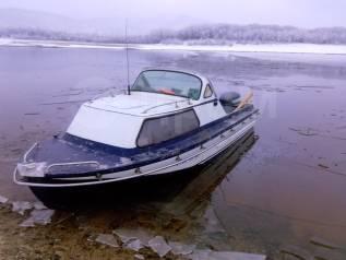 Амур 2. 1992 год год, длина 6,50м., двигатель подвесной, 115,00л.с., бензин