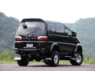 Спойлер. Mitsubishi Delica