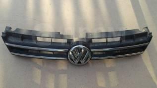 Решетка радиатора. Volkswagen Touareg, 7P5 Двигатели: CASA, CASD, CGEA, CGFA, CGNA, CGRA, CJGD, CJMA, CKDA, CMTA, CNRB, CRCA