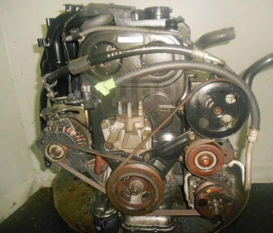 Двигатель в сборе. Mitsubishi Galant Двигатель 4G93