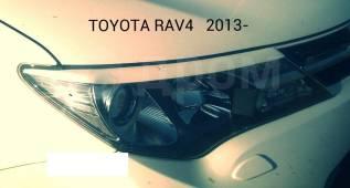 Накладка на фару. Toyota RAV4, ALA40, ALA49L, ASA42, ASA44, ASA44L, ZSA42L, ZSA44, ZSA44L Двигатели: 1ADFTV, 2ADFTV, 2ARFE, 3ZRFAE, 3ZRFE