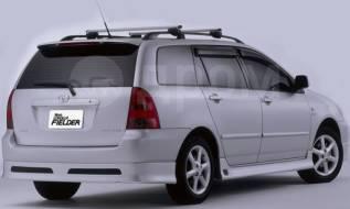 Накладка на бампер. Toyota Corolla Fielder. Под заказ