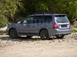 Накладка на порог. Subaru Forester, SG, SG5, SG6, SG69, SG9, SG9L. Под заказ