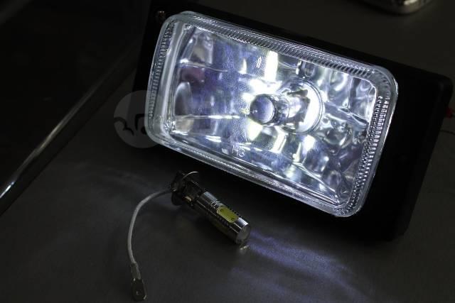 светодиодные лампы H3 с линзой Gt и тюнинг в бийске