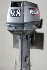 Tohatsu. 9,80л.с., 2-тактный, бензиновый, нога S (381 мм), 2005 год год