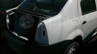 Задняя часть автомобиля. Renault Logan, LS1Y, LS0G/LS12, LS0H Двигатели: K4M, K7M, K7J