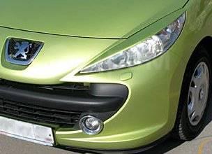 Накладка на фару. Peugeot 207, WA, WB, WC, WK Двигатели: DV6TED4, EP3C, EP6, EP6C, EP6DT, EP6DTS, ET3J4, TU3A