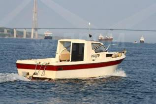 Аренда катера для прогулок на острова. 8 человек, 45км/ч