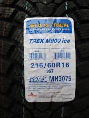 Maxtrek Trek M900. Зимние, под шипы, 2018 год, без износа, 4 шт