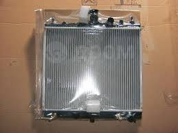 Радиатор охлаждения двигателя. Honda: Logo, Jazz, HR-V, Mobilio, Accord, Legend, Inspire, Fit Aria, Integra Двигатель F