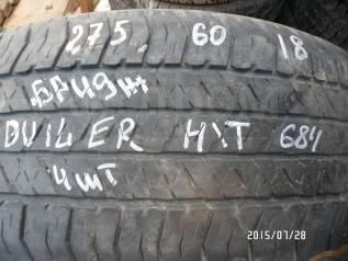 Bridgestone Dueler H/T D684. Летние, 20%, 4 шт