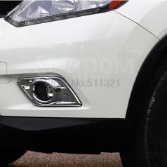 Накладка на фару. Nissan X-Trail, HNT32, HT32, NHT32, NT32, T32. Под заказ