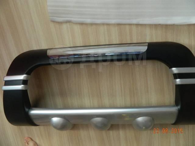 Накладка на бампер. Nissan X-Trail, T31, T31R